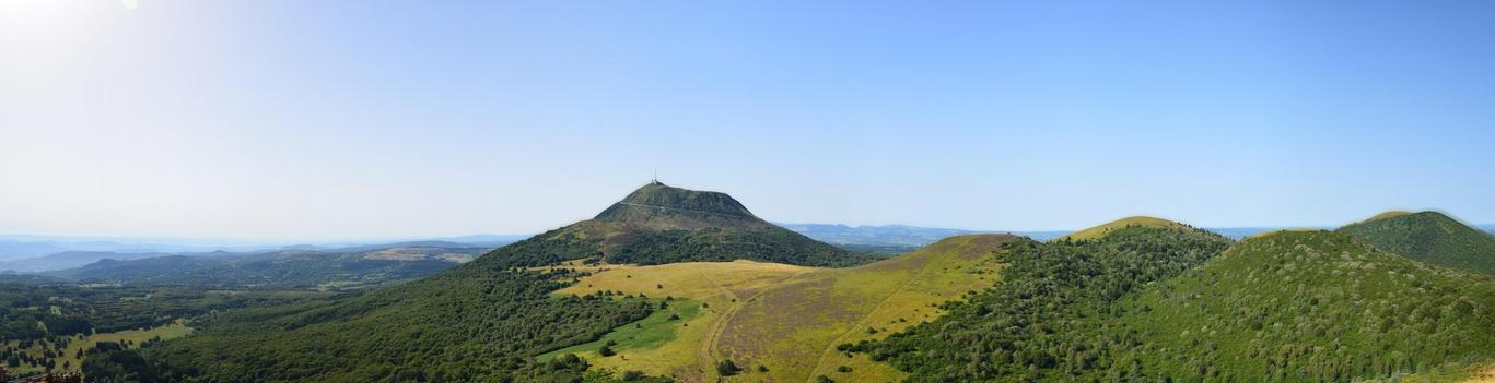 Puy de Dme vu panoramique